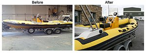 damaged rib boat case study