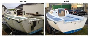 sail boat refurbishment Ireland