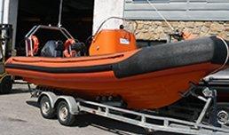 Rib Boat Atlantic composites Donegal